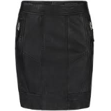 Leather Biker Pencil Skirt