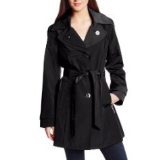 Double Collar Trench Coat | Emerald