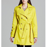 Abby Hooded Trench Coat