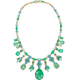 Aerin Gold-Plated Swarovski Crystal Necklace