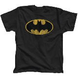 Batman Distressed Logo Tee