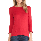 Bekki Sweater | Dynasty Red