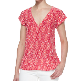 Rubina Blouse | Spiced Coral