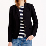 Tall Schoolboy Blazer in Black