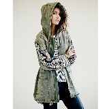 Golden Quills Military Parka | Olive