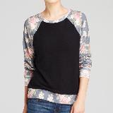 Rose Sleeve Pullover