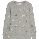 Crystal Embellished Sweatshirt