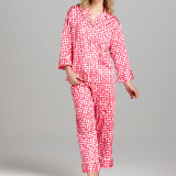 Ming Notch Collar Pajamas