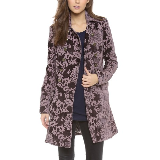 Downtown Coat | Plum