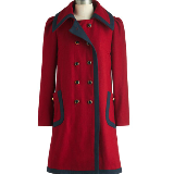 Cherry Warm and Cozy Coat