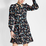 Licorice Print Dress